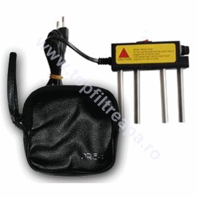 Electrolizer in geanta