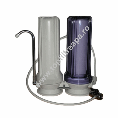 Filtru de apa CleanLife Duo GAC in doua trepte