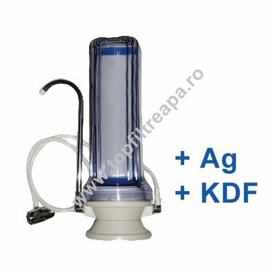 Filtru de apa CleanLife Silver GAC ( cu Ag si KDF)